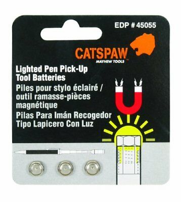Mayhew Steel Products 45055 Cats Paw Battery Pack For Lighted Pen Pick Up Tool