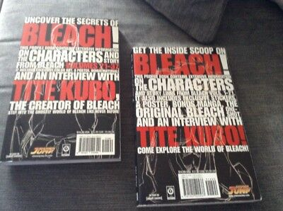 Bleach Books Covering Volumes One To Thirty Seven
