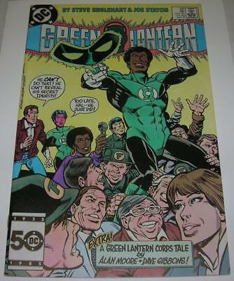 GREEN LANTERN #188 (DC Comics 1985) I. D. revealed (FN/VF) Alan Moore backup sty