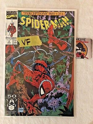 Spider-Man #8 Perceptions Part 1 Todd Mcfarlane Marvel Comics Vf-