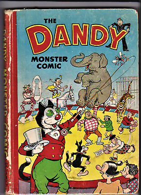 DANDY MONSTER COMIC 1951 Book D.C.Thomson Annual (1950)