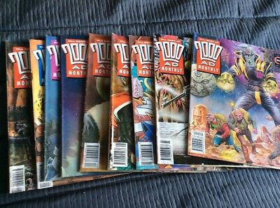 The Best Of 2000ad Monthly 1992-93 Issues 83 To 91 Magazines & Comics