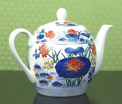 Beautiful Hand Painted Floral Teapot