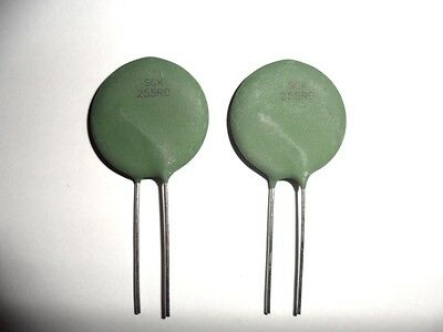 SCK255R0 Power Thermistor (2 pieces) New