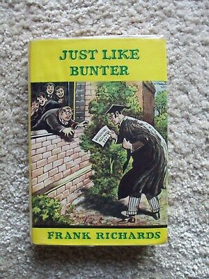Just Like Bunter (Billy Bunter) 1st Edition with Dust Wrapper