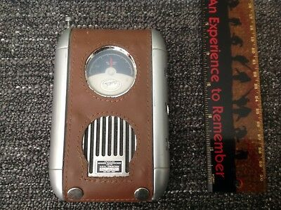 Spirit of St Louis Field Transistor Radio 3 Band Retro Style N-X-211 With Stand