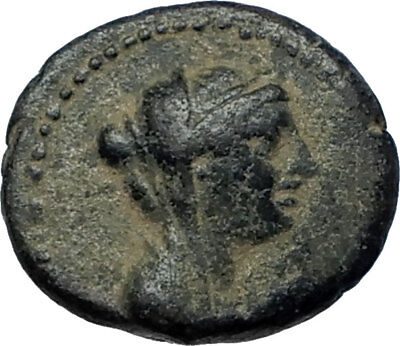 SELEUKOS IV Philopater 187BC Seleukid Ancient Greek Coin QUEEN LAODIKE IV i68121