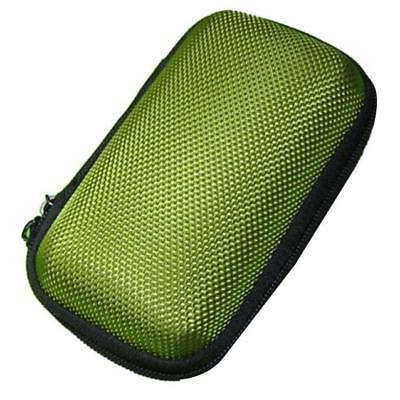 Hot Mini Round Hard Storage Case Bag for Earphone Headset SD TF Cards Optional