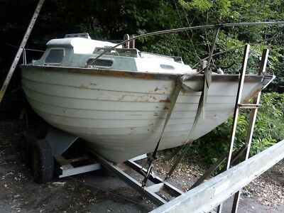 18ft sailing boat project