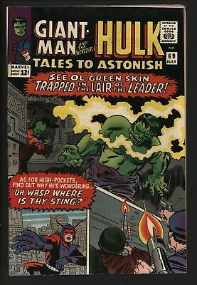 Tales To Astonish #69 Very Glossy Cents Copy Nice Page Quality. Hulk Vs  Leader