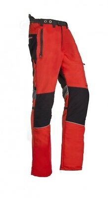 SIP Innovation II Type A Chainsaw Trousers Red Size