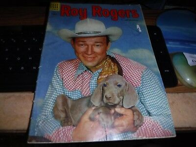 """"""" ROY ROGERS AND TRIGGER """" COMIC - No. 90 - 1955-VG CONDITION"""