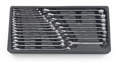 GearWrench 81900 24 Piece SAE & Metric Combination Wrench Set