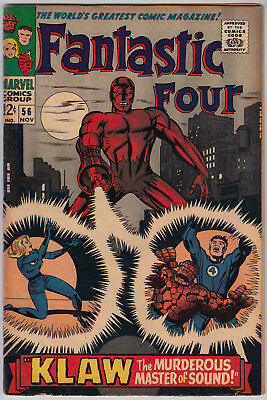 FANTASTIC FOUR #56 VG/FN (5.0) Cents