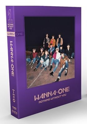 K-POP WANNA ONE 1 Nothing Without You (CD, 2017) Usually ships within 12 hours!!