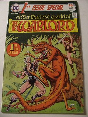 WARLORD 1ST ISSUE SPECIAL #8 Bronze Age Comic Book 1975 First DC
