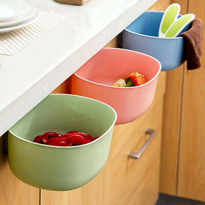 Best Kitchen Cabinet Door Hanging Trash Garbage Bin Can Rubbish Container Gift