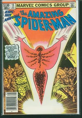 Amazing Spider-Man Annual #16 F/VF