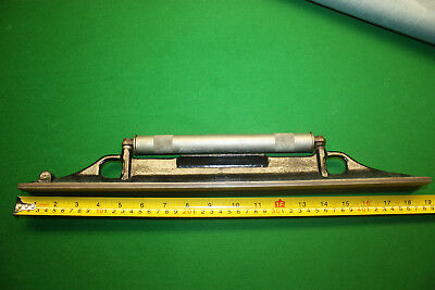 """ENGINEERS LEVEL L.S STARRETT CO. 18 inch""""long PRECISION MACHINIST  MADE IN USA"""