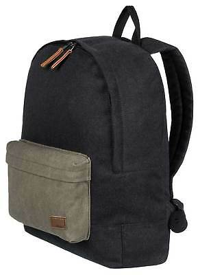 Roxy Sugar Baby Canvas Colorblock 16L Backpack - Anthracite - New