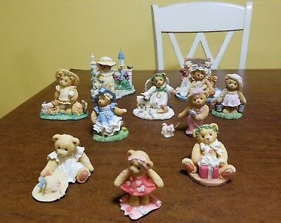 Cherished Teddies Spring Lot 10 Pieces New