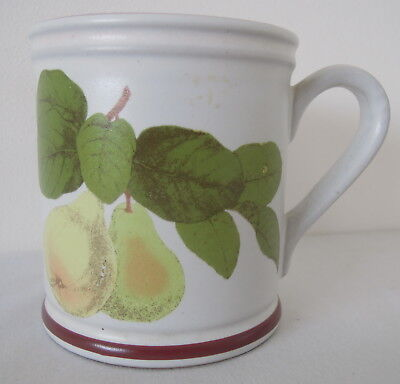 Denby Fruits Collection Pear Pattern Mug