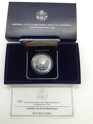 1997 National Law Enforcement Officers Memorial Commemorative Coin