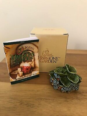 Harmony Kingdom, Lord Byrons Harmony Garden, Forget Me Not...retired
