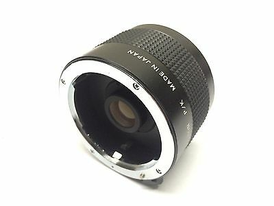 Vivitar MC 70-150mm 2X Matched Multiplier Lens for P/K