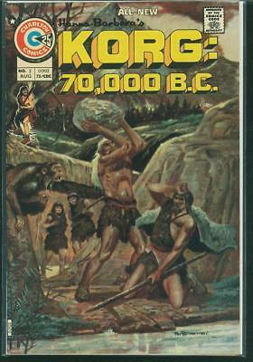Korg: 70000 BC #2 and #4 (2 book lot)
