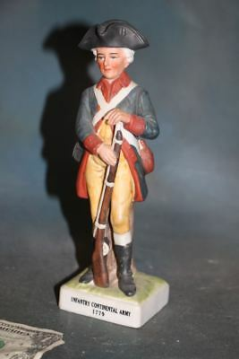 Infantry Continental Army Lefton Andrea Sadek Revolutionary War Soldier Figurine