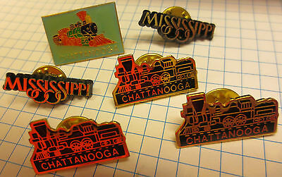 Pin Button Badge Chattanooga choo choo Mississippi Railway Company Anstecker