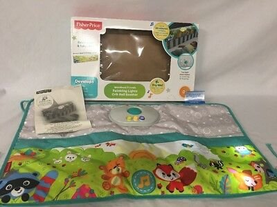 Fisher-Price Woodland Friends Twinkling Lights Crib Rail Soother w/ Box E807-010