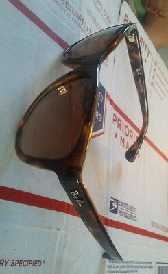 Ray ban sunglasse RB 4218L 710/13 55/17 ind. Brass made in brazil with rx lenses