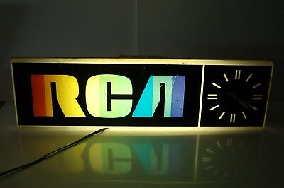 Vintage RCA Lighted Indor Wall Clock HC7523