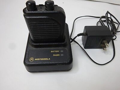 Motorola minitor III  vhf pager with base / charger  151.00