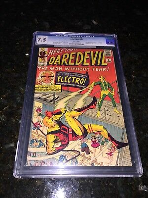Daredevil #2 CGC 7.5 White Pages!