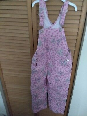 Lilly Pulitzer overalls Sz 6 Girls