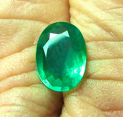 Top Zambian Stone! 1.88 ct Natural Earth Mined Emerald Certified No Reserve