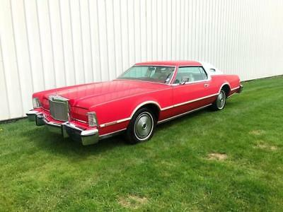 Mark Series IV 1976 Lincoln Mark Series IV 4  RARE - LIPSTICK RED -LOW Miles - GREAT CONDITON !