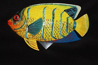 (1), Seafood Restaurant Tropical Fish Wall Decor, 8 inch, 3-D, Realistic, #113