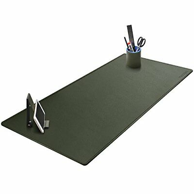 "Office Desk Protector 39.4"" x 15.7"" Artificial Leather Large Mat Mouse Pad"