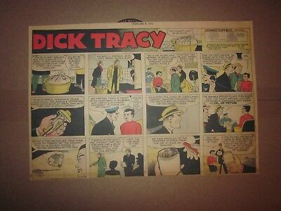 Chicago Sunday Tribune-2-4-1951-Chester Gould Dick Tracy-1/2 Page Sunday Comic