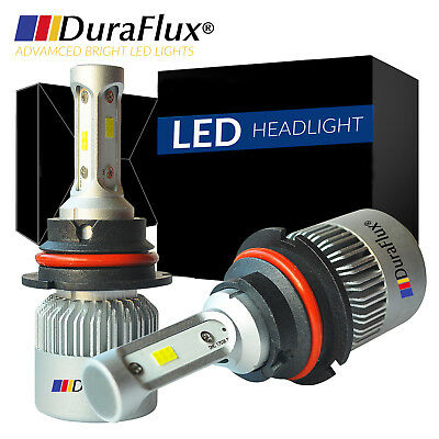DURAFLUX 288W 28800LM Philips LED Headlight Kit 9004 HB1 Hi/Low Beam 6000K White