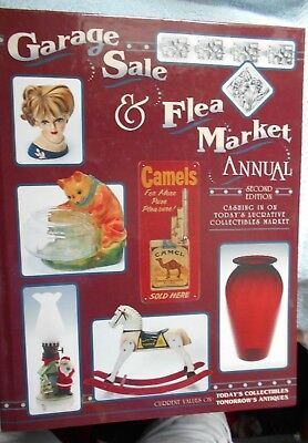 GARAGE SALE & FLEA MARKET ANNUAL,second addition,1994,509 pages,Thousands of B/W