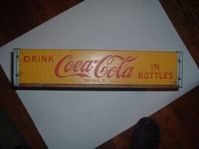 1969 Perry La. wood (cypress) coca-cola  crate in very good condition