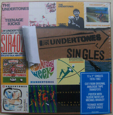 "The Undertones Singles RSD 7"" vinyl singles box set NEW/SEALED"