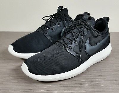 huge discount 44007 2ed40 NIKE ROSHE TWO Lifestyle Casual Sneakers, 844656-003, Black, Mens Size 9.5  / 43