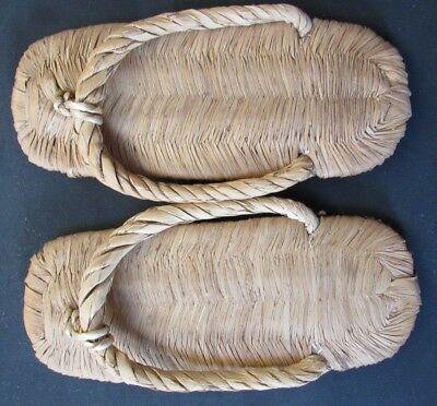 Woven Traditional Pair of Zori 23 cm Long True Samurai Style