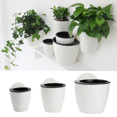 Garden Planter Self Watering Flower Pot Plant Box Indoor And Outdoor